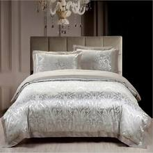 4pcs jacquard mulberry silk cotton bedclothes bedding sets queen king size Quilt duvet cover set bedsheets cotton bedcover(China (Mainland))
