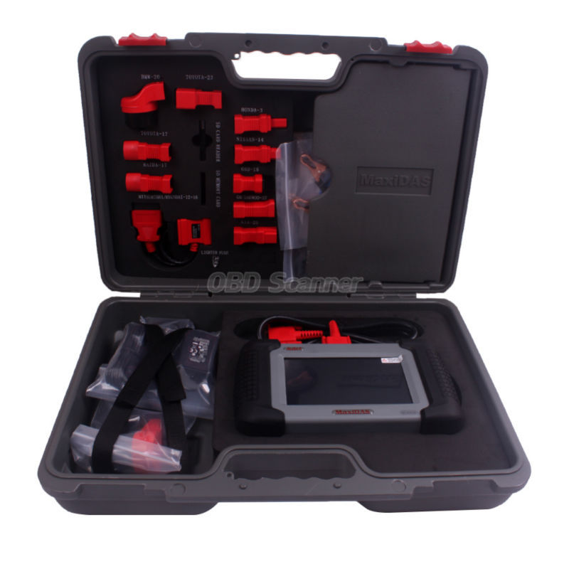 english site100% Original AUTEL MaxiSYS Autel MaxiDAS DS708 Diagnostic Tools ecu testing tool diagnostic-machine-for-car(China (Mainland))