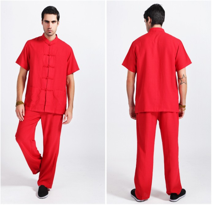linen pants and shirt set - Pi Pants