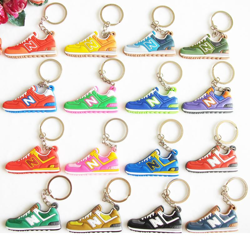 Гаджет  cute zapatillas new balance 574 key chain mujeres, sneaker keychain kids key chains key rings women key holder chaveiro None Ювелирные изделия и часы