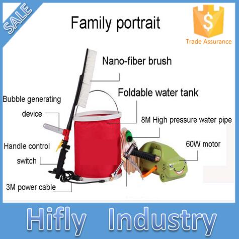 Mini High Pressure Car Washing Machine Portable Car Washer Electric Mobile Steam Car Wash(China (Mainland))