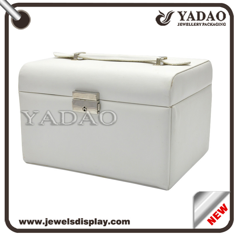Large Jewelry Box,Necklace Organizer Bracelet Necklace Pendant Storage Cabinet Armoire Gift Box(China (Mainland))
