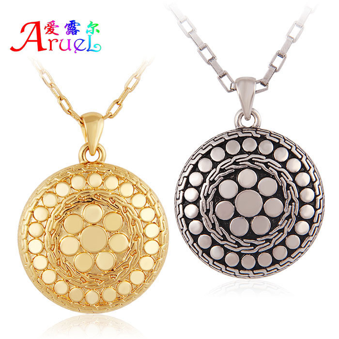 Latest Jewellery Designs Gold Chains For Boys/Men Long Retro Vintage Antique Silver Jewelry Necklace Pendants Collares 2015 Moda(China (Mainland))