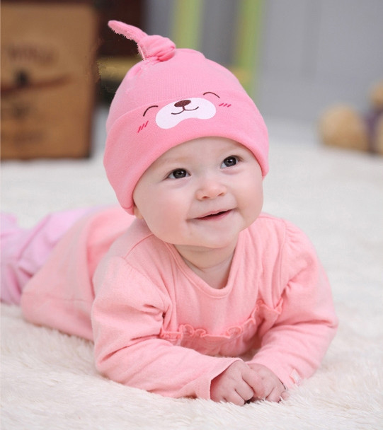 Hot Selling!!! 1Piece Child Sleep Hat Newborn Cap The Baby Kit Lens Cap Baby Cotton Cap(China (Mainland))