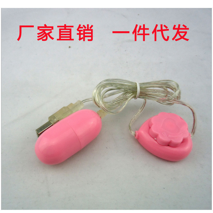 Female adult sex toys adult toys wholesale USB socket skip over egg eggs female health products(China (Mainland))