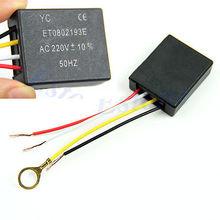 5 unids/lote Mesa de Partes de luz de Encendido/apagado 1 Sensor de Control Way Táctil Interruptor de La Lámpara Bombilla