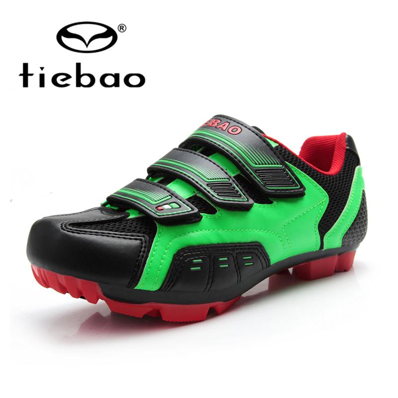 НОВЫЙ Tiebao Мужская MTB Велоспорт Обувь Велоспорт спорт Горный велосипед обувь Самоконтрящаяся обувь Спортивная Обувь TB15-B943G обувь децкую b g