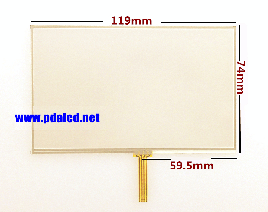 """wholesale"""" New 5-inch Touch screen panels for TomTom GO LIVE 525 825 GPS Touch screen digitizer panel replacement Free shipping(China (Mainland))"""