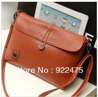 free shipping,2013 new arrival fashion lady leather handbag,women Mini shoulder bag vintage candy-colore cross body bag,cb202
