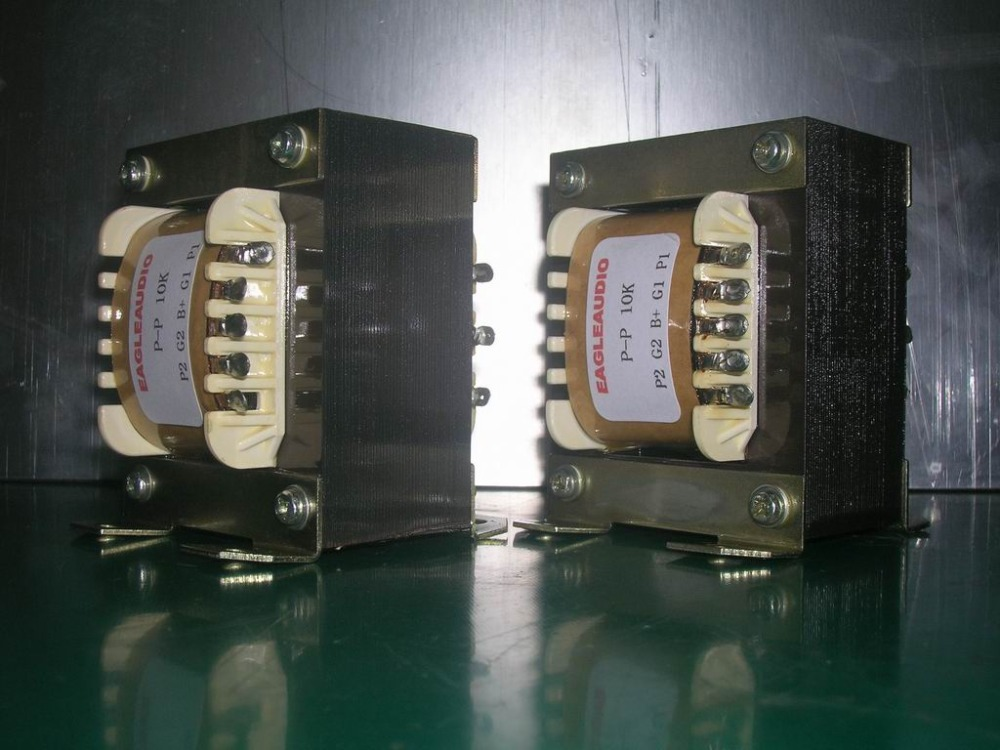 10k cattle output transformer cattle output transformer amplifier transformer 2PCS amplifier Audio HIFI DIY High Quality