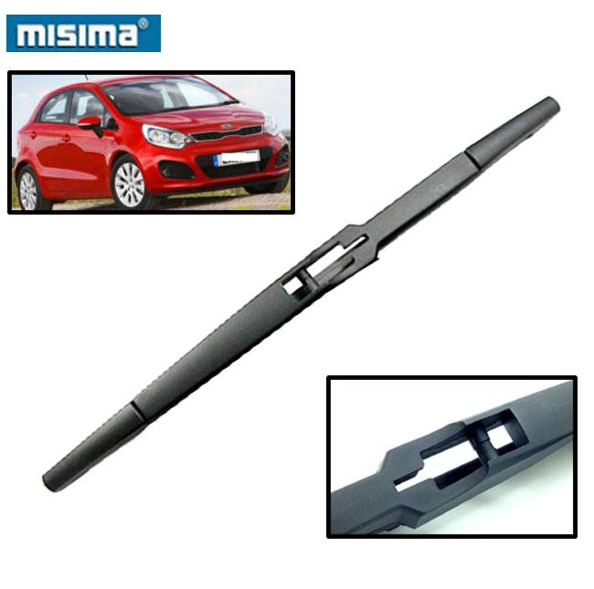 "MISIMA 11"" 280mm For Kia Rio Mk3 (K2) 2011 2012 2013 2014 2015 2016 Exact Fit Rear Window Windshield Windscreen Wiper Blade(China (Mainland))"