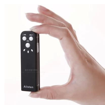 Miniature recorder Professional HD telephoto noise genuine voice ultra-small mini MP3 U disk device(China (Mainland))