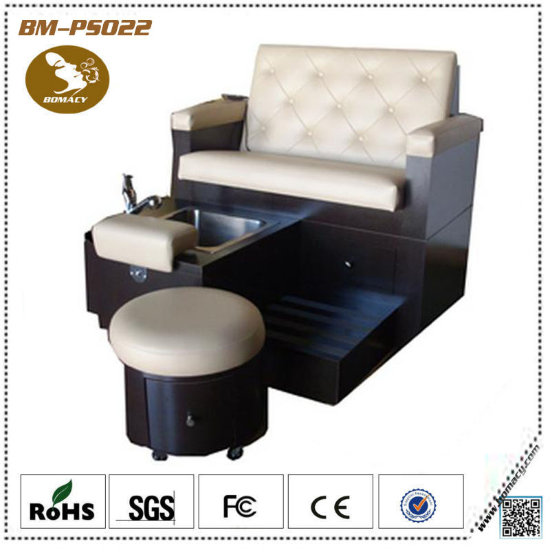 Spa pedicure chairs with no plumbing in massage for Salon de pedicure