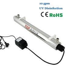 Ультрафиолетового обеззараживания 10 GPM уф-стерилизатор SEV-5885 ce, Rohs для очистки воды