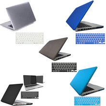 "Free Shipping  Rubberized Hard Case Shell + US Version Keyboard Cover for Macbook Pro 13"" New Arrival Promotion(China (Mainland))"