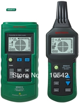 Free Shipping, Mastech MS6818 Wire Cable Metal Pipe Locator Detector Tester