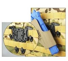 CQC Strike MOLLE Platform Holster STRIKE MOLLE Adapter holster fits SIG HK USP Compact Beretta GLOCK Bracket for MOLLE sytem