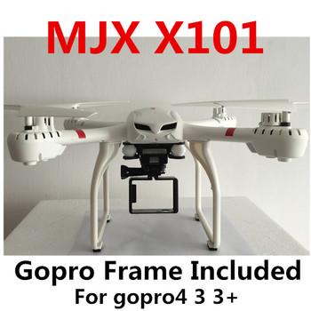 Mjx X101 2.4 г RC quadcopter беспилотный / дроны вертолет 6-axis можно добавить C4005 c4008 камеры ( FPV ) против JJRC H16 тарантул x6 V686G