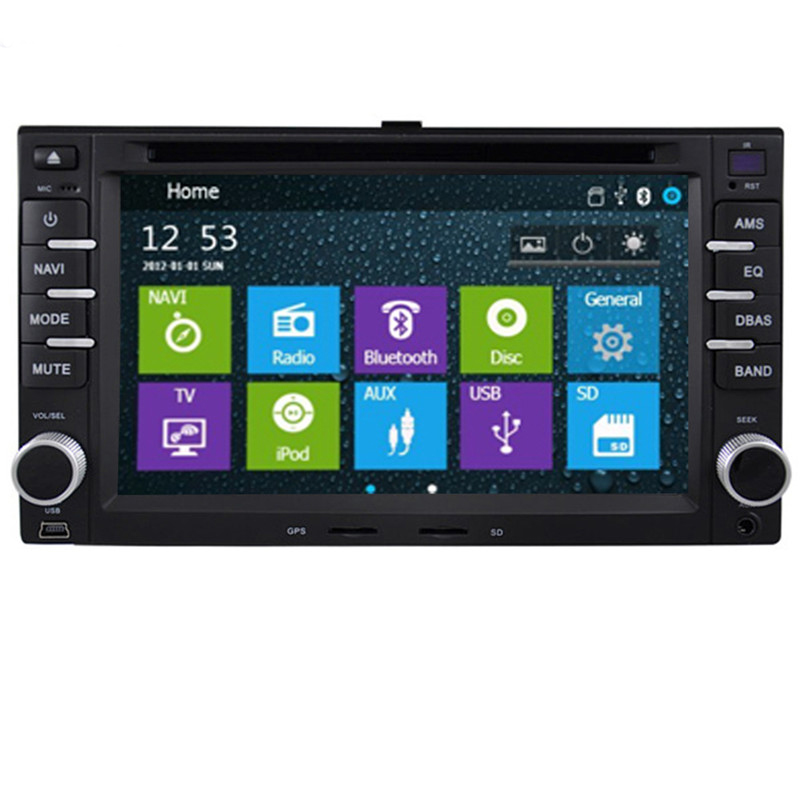 Free Shipping Professional Wince Car Entertainment Multimedia System DVD Audio For KIA Sportage/Cerato/Sorento With GPS Free Map(China (Mainland))