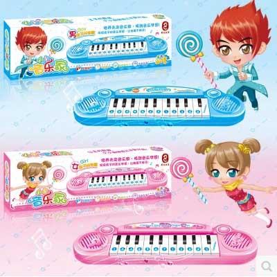 Electronic mini keyboard kids toys for boys girls educational russian puzzle multifunctional small piano free shipping(China (Mainland))
