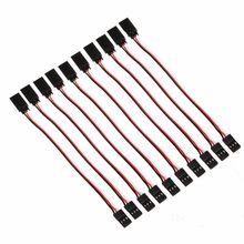 Бесплатная доставка 10 x 15 см 60 ядер серво расширение провода кабель для Futaba JR