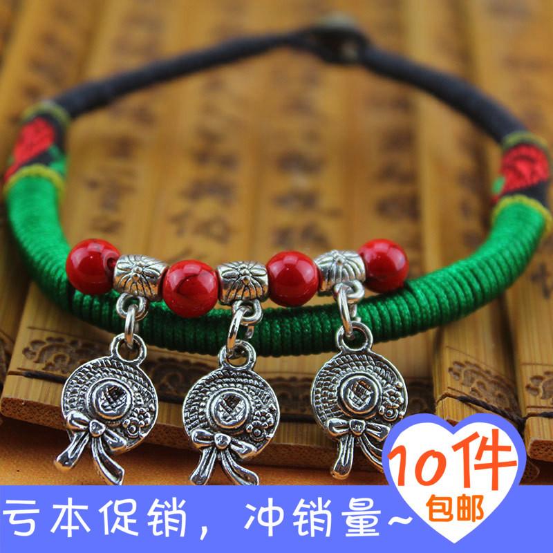 New Products ethnic jewelry gift wholesale ethnic style bracelet bohemian flea market supply Hot(China (Mainland))