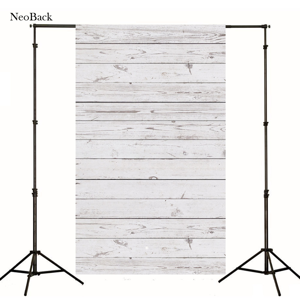 2016 new 3x5ft Wood Grain Photography Background For Studio Photo Props Thin Photographic Backdrops 90 x 150cm White decoration(China (Mainland))