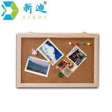 Free shipping natural wood frame cork board office supplier 20*30cm factory direct sell home decorative