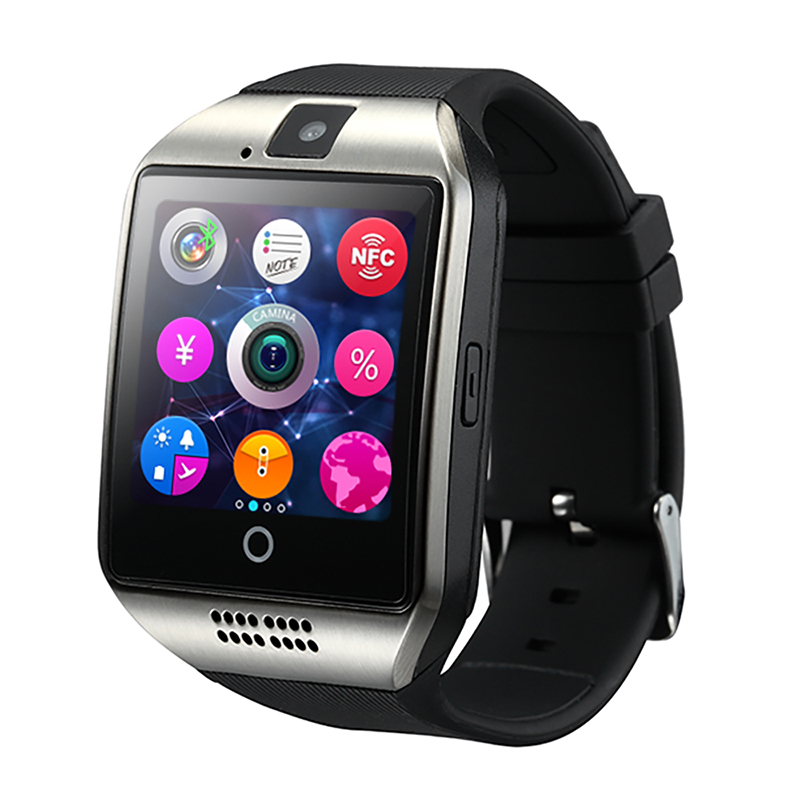 Smart Watch New Q18 Passometer Smart watch with Touch Screen camera Hiwego Bluetooth smartwatch for Android IOS Phone T30(China (Mainland))
