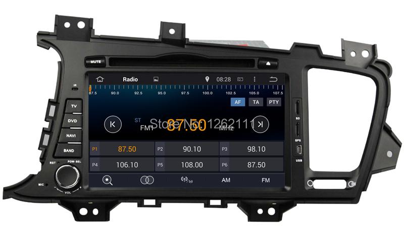 Free Shipping Android 4 4 KIA K5 Optima 2011 2012 Car DVD Player GPS Radio Stereo