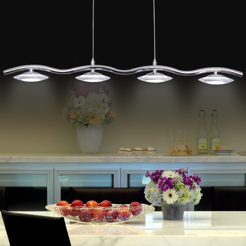 Creative flying saucer UFO dining room kitchen pendant lights. Modern Super bright 20W LED pendant lamp with Acrylic shade(China (Mainland))