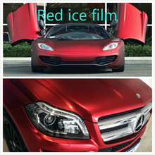 Buy 20cmx152cm Car Carbon Fiber Vinyl Film Car Sticker Plating Matte red Ice Film Vinyl Auto Wrapping Vinyl Fiber Motocycle Laptop for $6.56 in AliExpress store