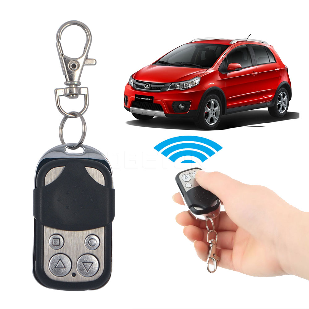 12V 27A Hot sale 4 Channel Wireless 433MHZ Cloning Clone Copy Code RF Remote Control Car Keyless Entry(China (Mainland))