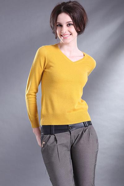 Высокое качество женщин сексуальный v-образным вырезом из шерсти женщины трикотажные кашемировые свитера широкий женщины-де-режим тянуть En Cachemire плюс шерстяные свитера