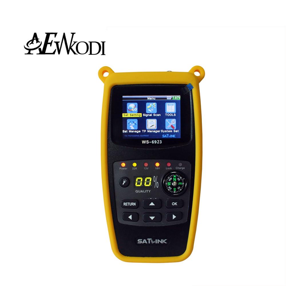 Anewkodi Original Satlink WS 6923 for WS-6923 satellite receiver Digital Satellite Finder WS6923 with 2.1 Inch LCD Display(China (Mainland))