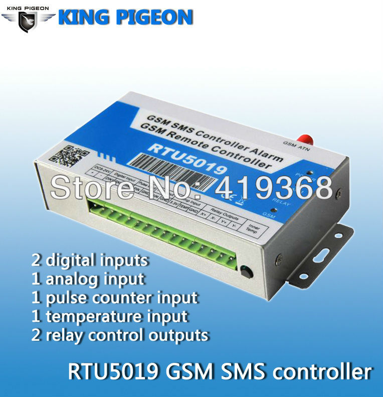 Датчики, Сигнализации King Pigeon GSM RS485  RTU5019  2017 new arrival free shipping 8 ch modbus rtu rs485 network expansion board rs485 modbus rtu mode