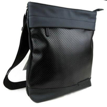 New Fashion 2015 free shipping designer brand hollow out PU leather men messenger bags/shoulder bussiness bag for man