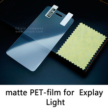 Glossy Lucent Frosted Matte Anti glare Tempered Glass Protective Film On Screen Protector For Explay Light