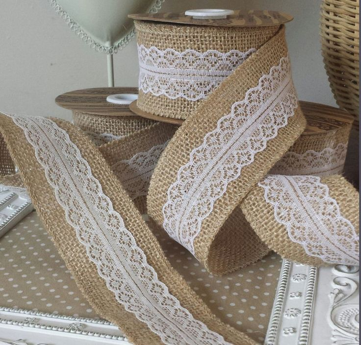 2018 wholesale natural jute burlap hessian ribbon with lace trims 5m natural jute burlap hessian ribbon with lace junglespirit Image collections