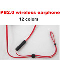 MOQ1pcs ear Hook PB2 0 Wireless Earphone Headset BS Earphones Headphone For Iphone and Android phone