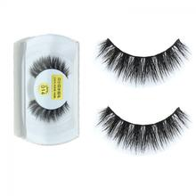 2016 New 100%Real Mink Natural Thick False Fake Eyelashes Sexy Fashion Women Eye Lashes Makeup Extension Beauty Hot Top(China (Mainland))