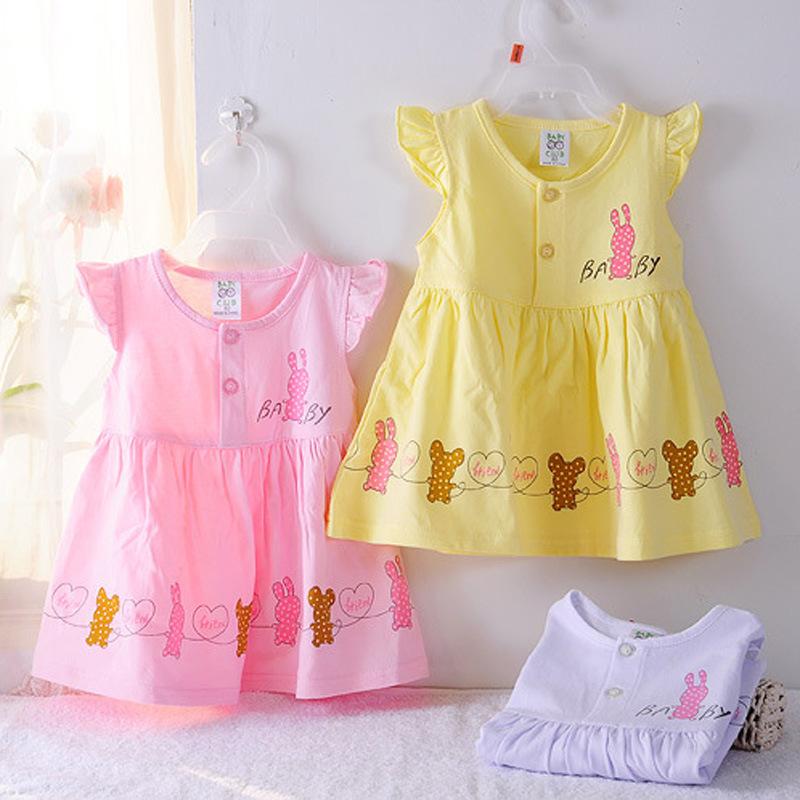 Платье для девочек 100%