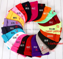 Free shipping 2013 autum winter new arrival Unisex causal wear hat 20 colors Sleeve cap promotion gift(China (Mainland))