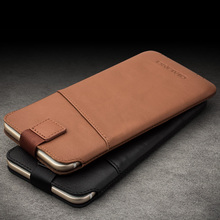 QIALINO Brand Case For Apple iPhone 6 6S 4.7/6 6S Plus 5.5 Top Quality Genuine Leather Card Magnet Wallet Pouch Mobile Phone Bag