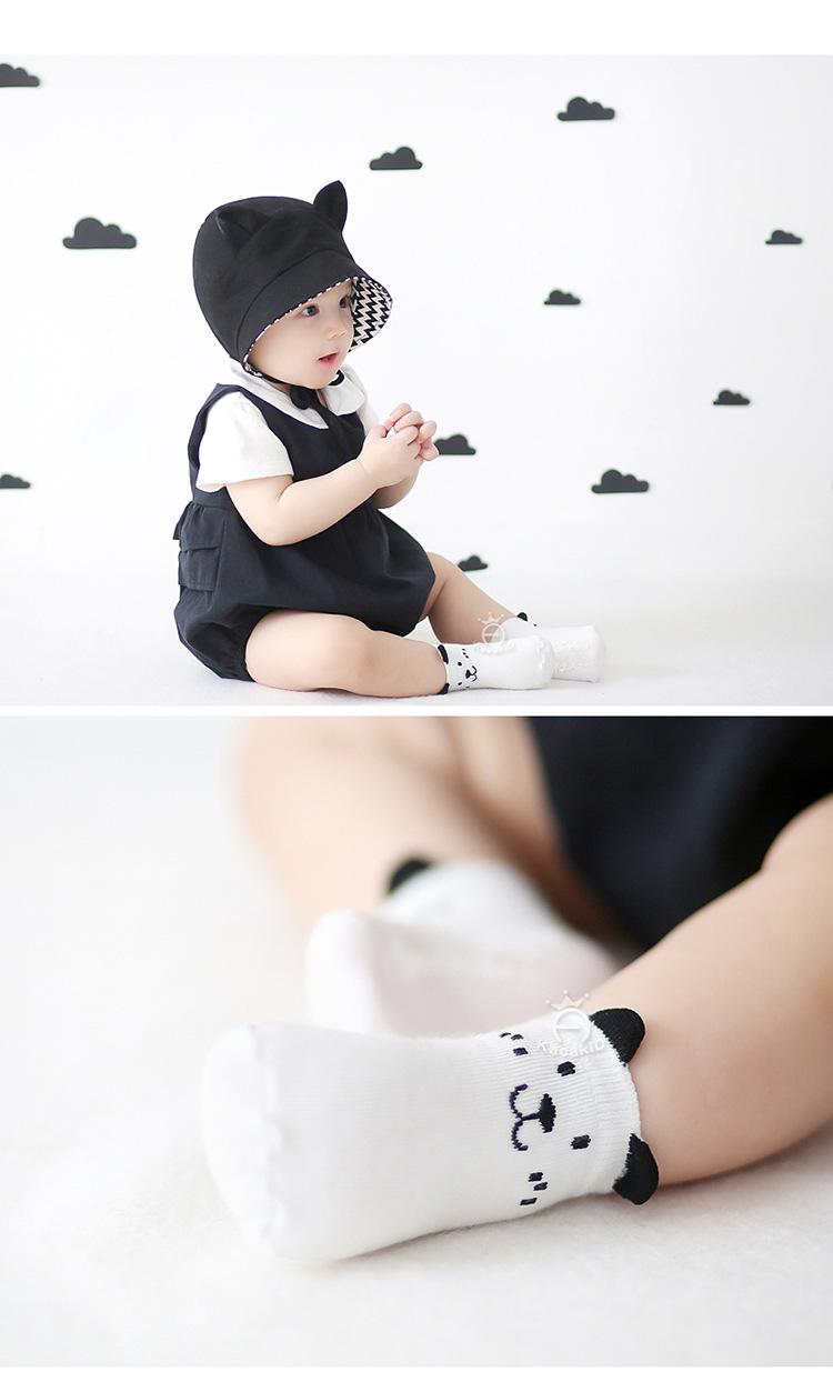 Cotton Newborn Baby Socks for Summer Kacakid 2016 Spring Floor Children's Socks for Newborns calcetines bebe Ankle Sock 3D sale