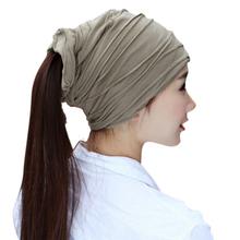 Amazing Fashion Solid Color Women Beanie Cap Thin Hip-hop Skull Cap Hat Hot Fashion(China (Mainland))