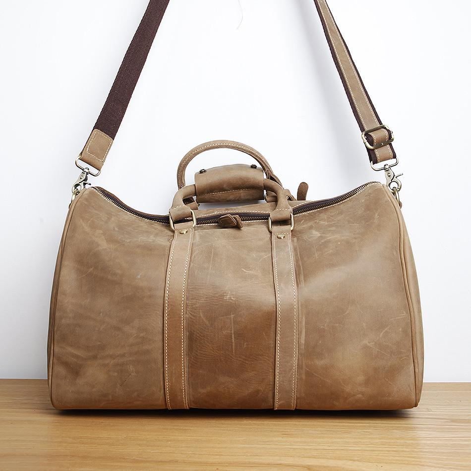 Aliexpress.com : Buy LAN men\u0026#39;s leather travel bag fashion large ...