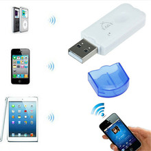 Bluetooth USB Stereo Home Car Wireless Audio Music Speaker Receiver Adapter