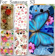 Colorful Brilliant Rose Peony Flowers Case Hard Cover For Samsung Galaxy S3 GT-i9300 4.8inch i9300 I939D DUOS i9300i Neo+ Case(China (Mainland))