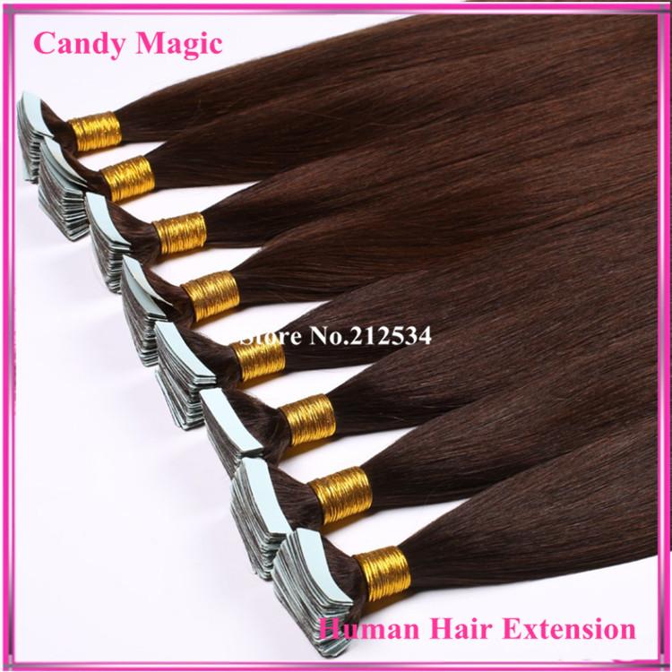 Wholesale Remy Tape Hair Extensions 40pcs/lot 18